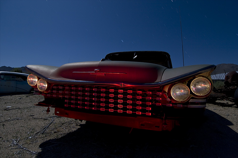 Eyebrow Scar  :::::  1959 Buick