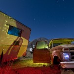 Shadow of the Wing  :::::  1956 Cadillac Camper Conversion and 1963 Ford F150