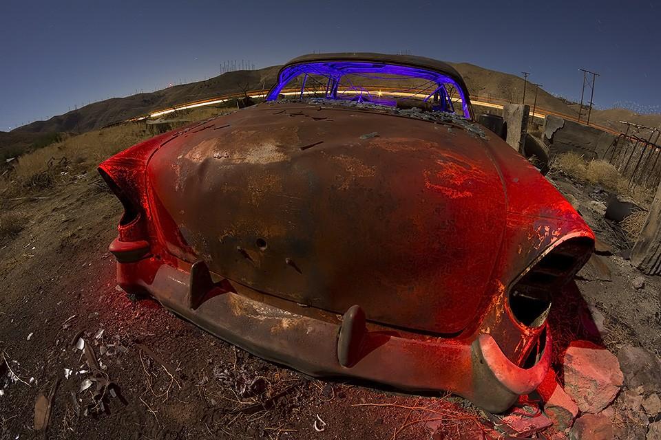 The Rusty Humpback  :::::  2014  :::::  1956 Chevrolet  :::::  Sand Canyon, California