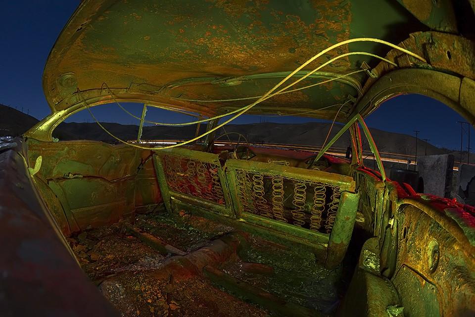 Bel Air Inferno  :::::  2014  :::::  1956 Chevrolet  :::::  Sand Canyon, California