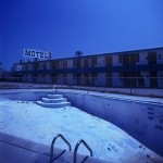 Northshore Pool  :::::  2001  :::::  The modernist Northshore Marina Motel.