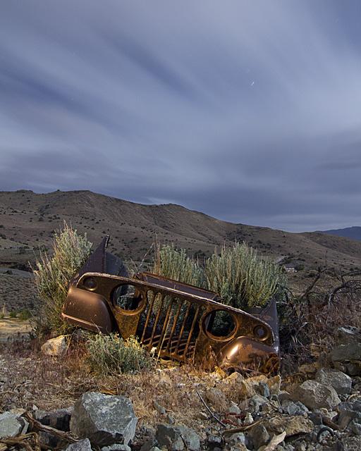 Jamboree Tombstone  :::::  2011  :::::  Jeep  :::::  Silver City, Nevada