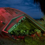 Ship Wreck :::::  2008  :::::  Salton Sea Beach.  Someone's yard ornament.