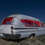 Pontiambulance  :::::  2009  :::::  1960 Pontiac-based Superior Bubble-Top Ambulance  :::::  Tonopah, Nevada