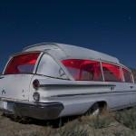 Pontiambulance  :::::  2009  :::::  1960 Pontiac-based Superior Bubble-Top Ambulance  :::::  Tonopah, Nevada