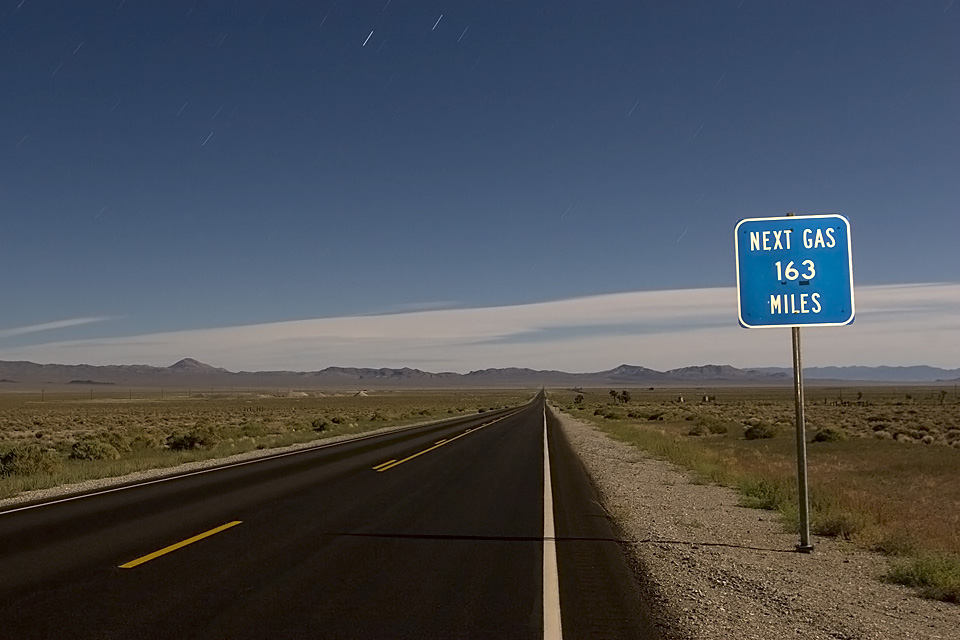 2 Hours @ 80mph  :::::  2009  ::::::  Highway 6, Nevada.