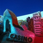 The Silver Slipper  :::::  2000  ::::::  Film  :::::  YESCO Boneyard, Las Vegas, Nevada.