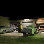 Body Paint and Flames  :::::  Gene and his team of artisans have been building custom cars for racing, the film industry and private collectors since 1947.