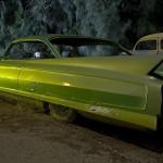 Lime Fade  :::::  1962 Cadillac Coupe de Ville custom.