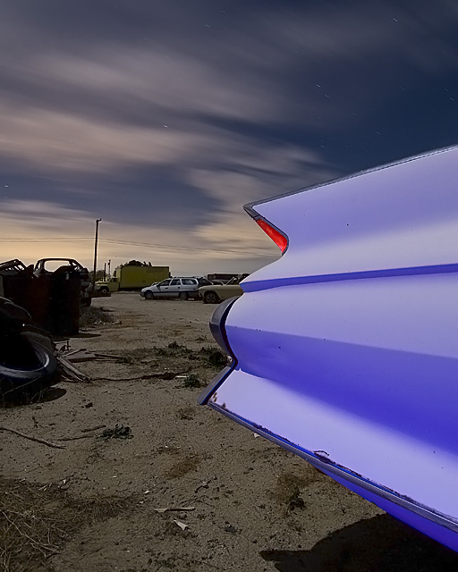 Lilac Skeg  :::::  1961 Cadillac Sedan de Ville.