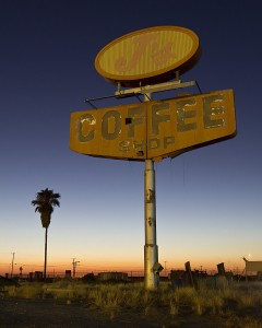 Coffee Sunset ::::: Highway 99  :::::  Delano, California  :::::  July 3rd, 2012