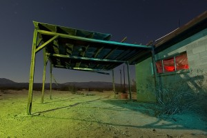 The Fight For Shade  :::::  Wonder Valley / 29 Palms, California