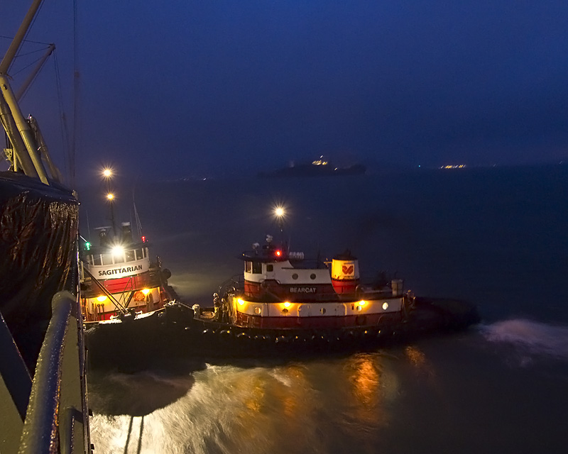 Tugs and Alcatraz
