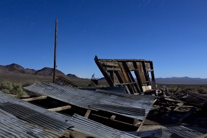 Undercut by Time  :::::  Atolia Mine, near Randsburg, California  :::::  July 2012