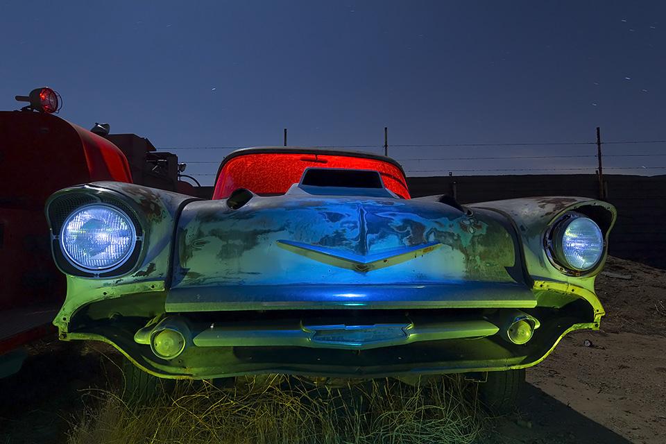 Tri-Power Catfish  :::::  1957 Chevy Custom  :::::  Paul's Junkyard