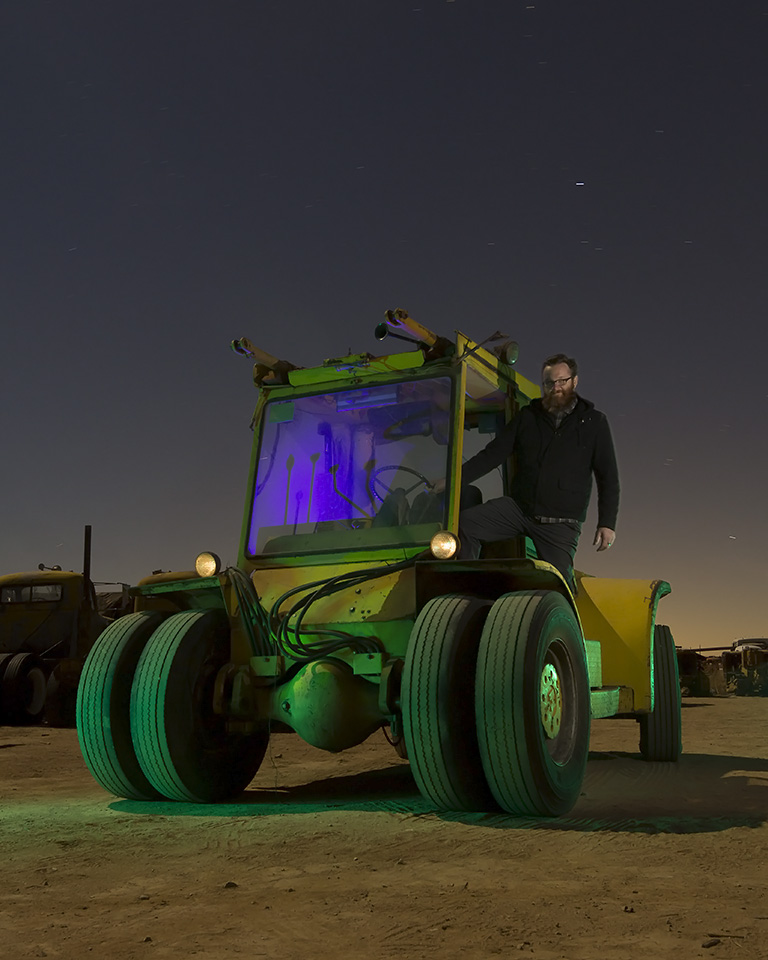 Where do you want your Moon Buggy?  :::::  15-Ton Hyster and Denver Maddux   :::::  Paul's Junkyard
