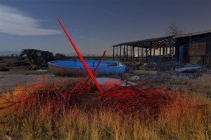 X Marks the Boat  :::::  Antelope Valley, California  :::::  August 2012