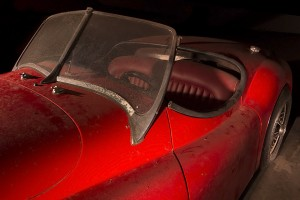 The Red Barchetta  :::::  Jaguar XK 100 (replica)
