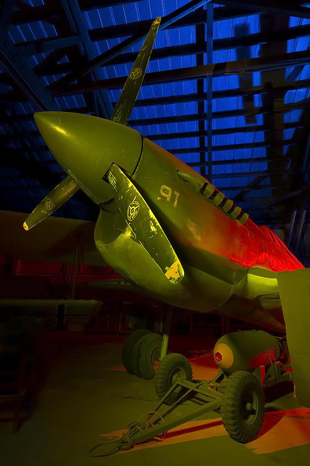 Wild Bill Kelso  :::::  Curtis P-40 (replica)