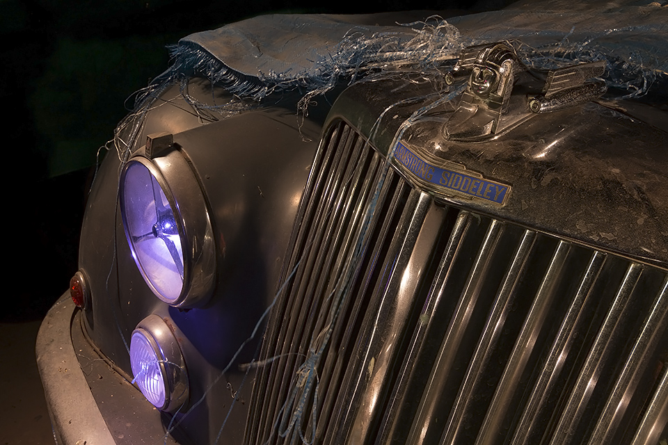 A Sphinx with Jets  :::::  Armstrong Siddeley Saphire Limousine