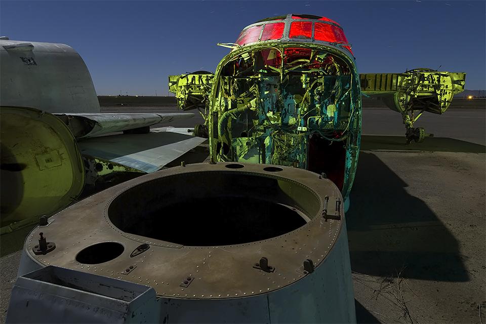 Falling in the Hole  :::::  Lockheed P-2 Neptune