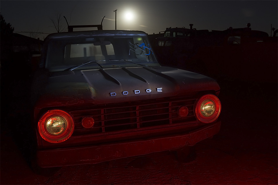 Red-Rimmed Eyes  :::::  1965 Dodge Truck