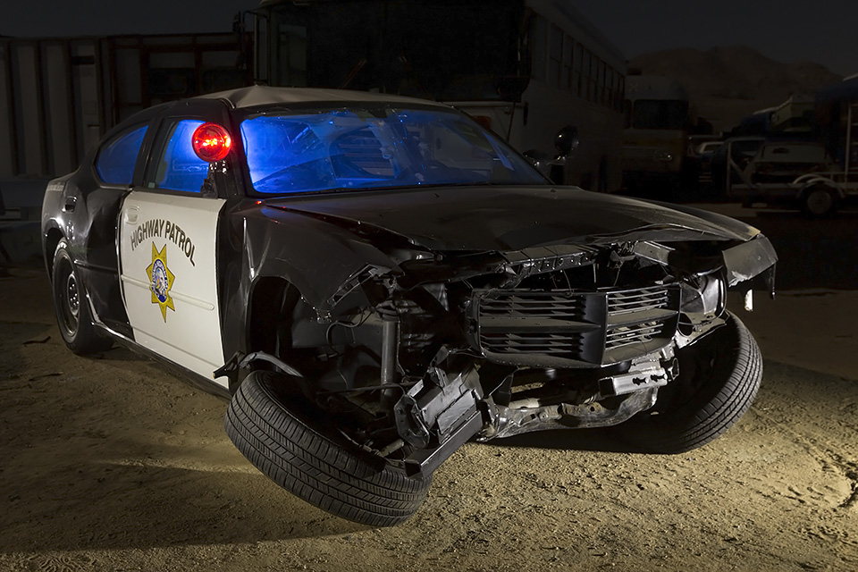 dirty and crazy       chp dodge charger movie prop