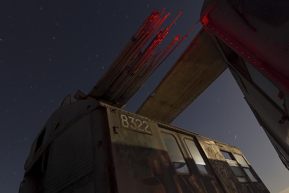 Space Station 8322  :::::  NYC MTA Subway Car