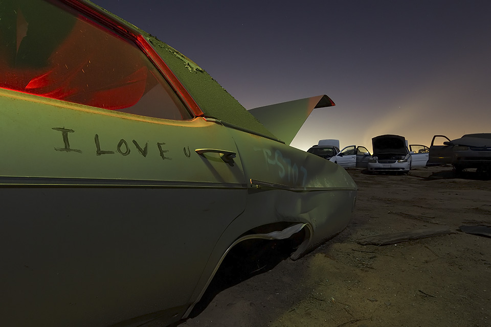 I Love u  :::::  1969 Chevy Impala :::::  Turner's Auto Wrecking