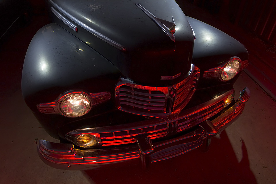 Red Chrome  :::::  1946 Lincoln