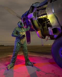 Sleestak Ground Crew (purple rim) :::::  Lockheed Harpoon