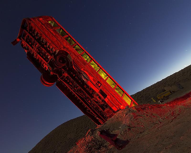 33 Passenger Drill Bit  :::::  International Car Forest of the Last Church  :::::  Goldfield, Nevada