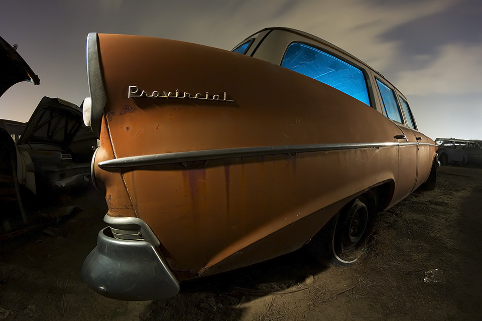 Retirement to the Provinces  :::::  1958 Studebaker Provincial Wagon