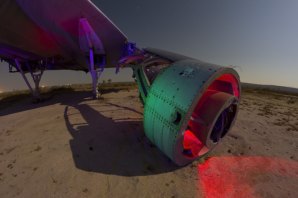 Chicken Legs Dropped His Engine  :::::  Convair B-58 Hustler