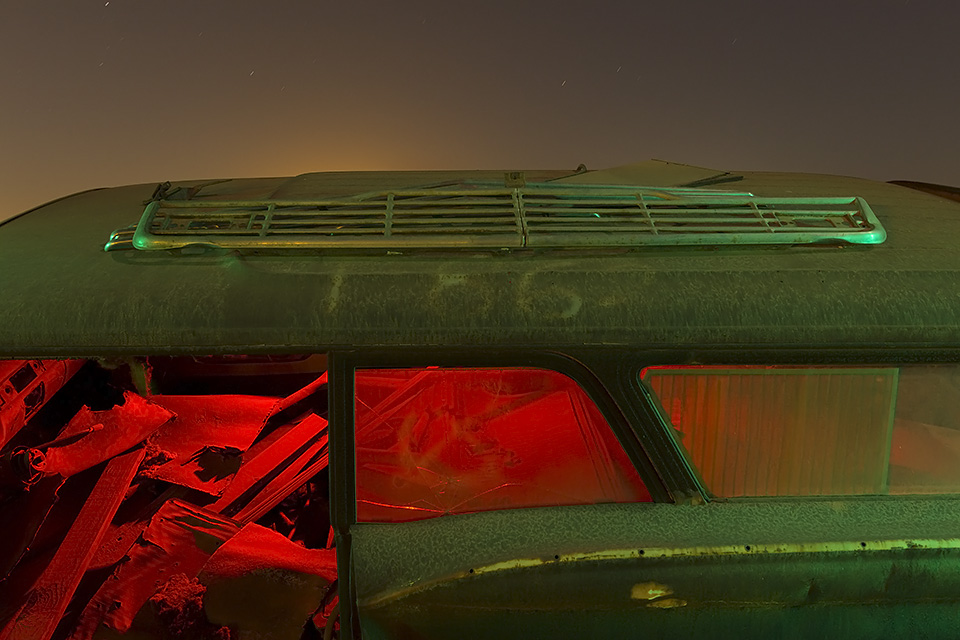 Deerborne Spacewreck  :::::  Late-'50s Ford Wagon