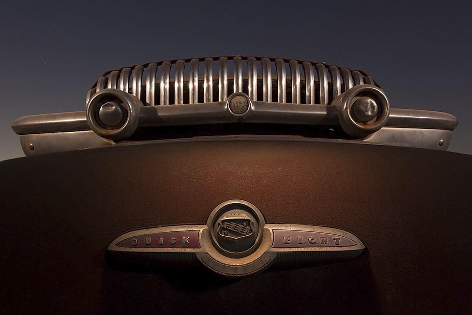Earl's Unibrow  :::::  1953 Buick Eight