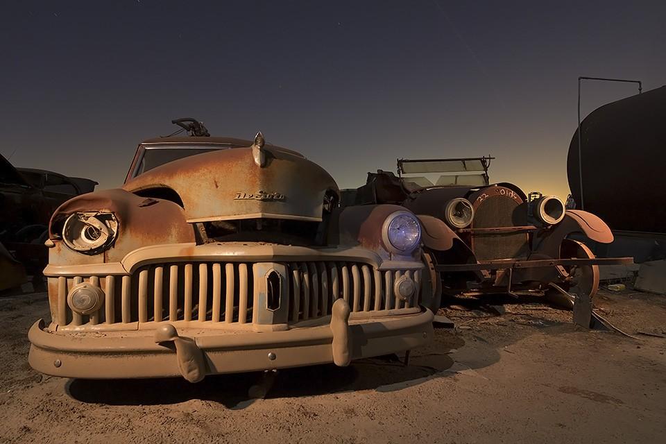 Friends Forever  :::::  1950 DeSoto & 1922 Oldsmobile