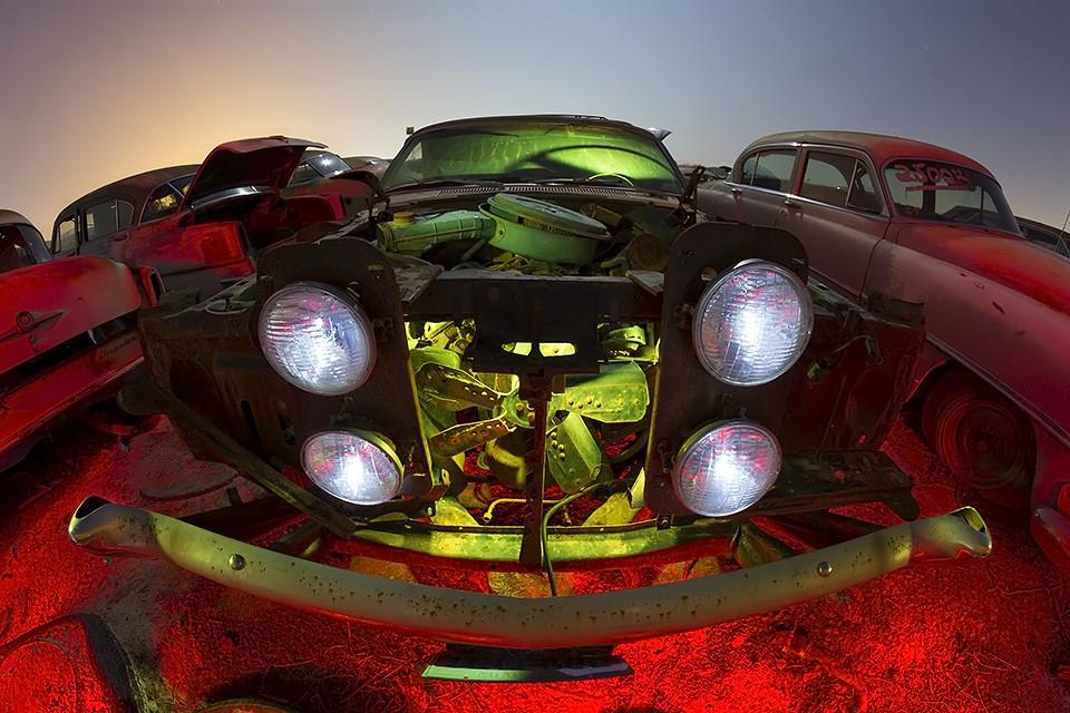 Spider Eyes  :::::  1970 Ford Ranchero