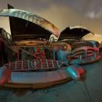 Caribbean Skies  :::::  Mid-'50s Packards