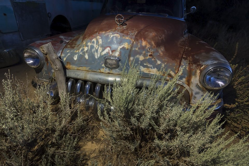 Chin In The Dirt  :::::  1950 Buick