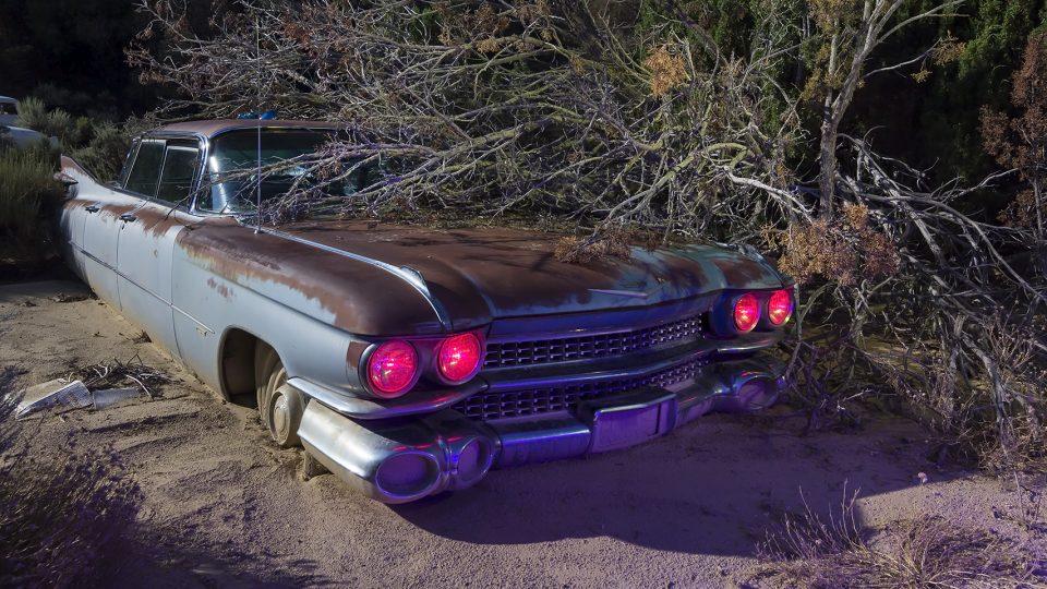Angry Eyed Flat Top  :::::  1959 Cadillac
