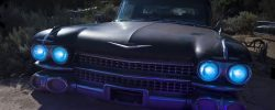 Climbing from the Tar Pit  :::::  1959 Cadillac Hearse