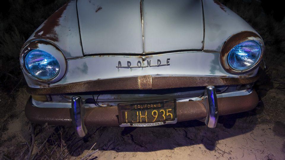 Aronde Bend  :::::  1950s Simca Aronde