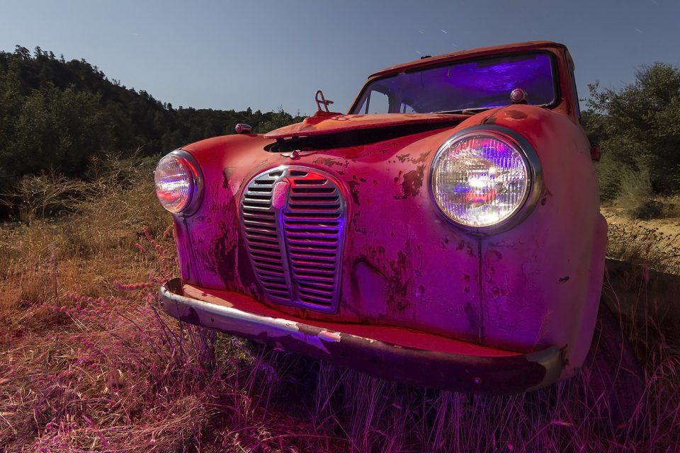 The Pink Saloon  :::::  1950s Austin A30