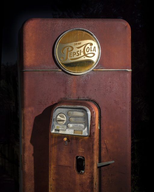 The Ten Cent Pepsi  :::::  1950s VMC Vendorlator