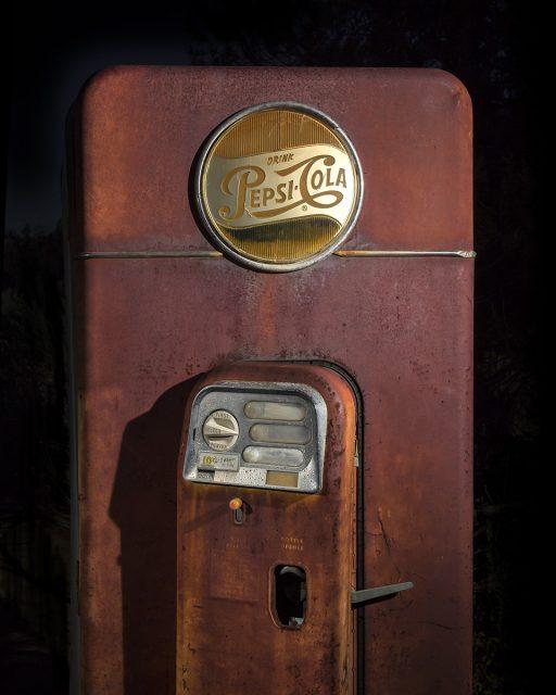 The Ten Cent Pepsi  :::::  1950s VMC Vendorlator